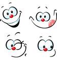 Funny cartoon face - smiling