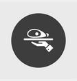ham icon simple vector image