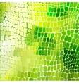 won mimic skin a reptile vector image vector image