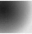 halftone dotted pattern background template vector image vector image