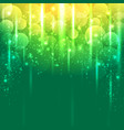 light green and gold yellow abstract background vector image vector image