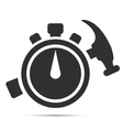 Quick repair Icon vector image