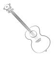 Guitar01 vector image
