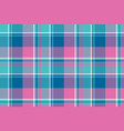 baby girl pink pastel color plaid seamless pattern vector image vector image