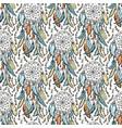 dreamcatcher sketch seamless pattern vector image vector image