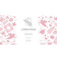 Vintage design elements romantic concept