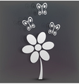 Simplistic Flower vector image
