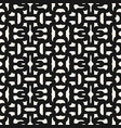 abstract seamless geometric pattern with curved vector image