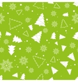 Christmas and New Year seamless pattern For vector image