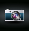 photocamera icon vector image
