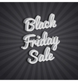 Poster Black Friday vector image