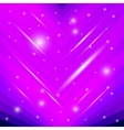 Shiny pink background vector image
