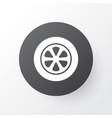 tie icon symbol premium quality isolated wheel vector image vector image