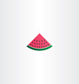 watermelon icon sign vector image