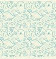 sea pattern vector image