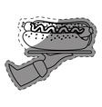 hot dog fast food order vector image