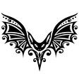 Bat halloween vector image vector image