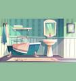 bathroom provence vintage style interior