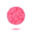 Fur concept label for Your Valentine design vector image vector image