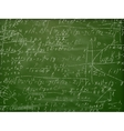Math formulas on a blackboard EPS 10 vector image