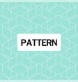 modern overlap hexagon pattern blue background vec vector image vector image