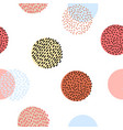 Seamless stylized colorful graphic pattern