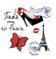 for french design vector image