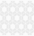 abstract seamless pattern of bold hexagons vector image vector image