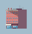 city building house urban real estate concept vector image