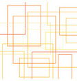 colorfuls square boxs abstract background vector image