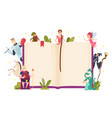 Fairy tale frame decorative background with