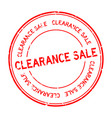 grunge red clearance sale word round rubber seal
