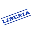 Liberia Watermark Stamp vector image vector image
