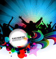 party banner background vector image