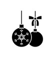 toys balls black icon sign on isolated vector image