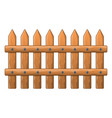 wooden fence symbol icon design vector image vector image