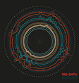 abstract colorful round big data vector image