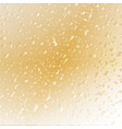 abstract gold textured background vector image vector image