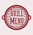 BBQ design vector image vector image