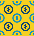 coin sign seamless pattern vector image