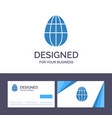 creative business card and logo template egg vector image vector image