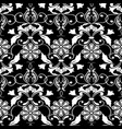 floral seamless patterndamask background for vector image