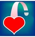 Heart Wobbler vector image vector image