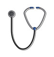 stethoscope medical tool vector image vector image