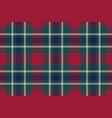 tartan plaid fabric texture seamless pattern vector image