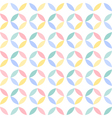 colorful seamless geometric circle pattern vector image vector image