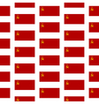 Flag of the Soviet Union seamless pattern vector image vector image
