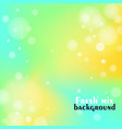 fresh smooth colorful transitions and air dots vector image