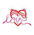 happy valentine day love kissing symbol vector image