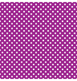 seamless purple polka dot vector image